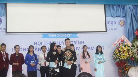 Vong chung ket Hoi thi thuyet trinh huong dan du lich lan thu 14 - Anh 1