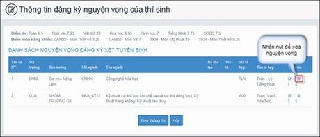 Huong dan thao tac thay doi nguyen vong tren online va mau giay - Anh 5