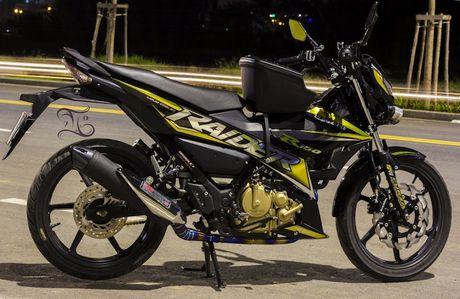 Dan choi Viet do Suzuki Raider 150 Fi 'ngon, bo, re' - Anh 2