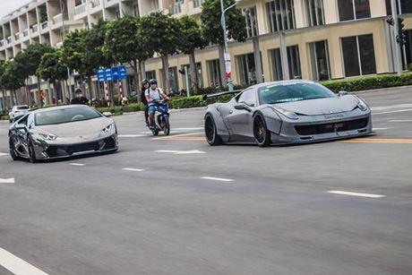 Bo doi sieu xe Lamborghini va Ferrari 30 ty tai Sai Gon - Anh 1