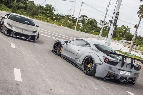 Bo doi sieu xe Lamborghini va Ferrari 30 ty tai Sai Gon - Anh 2