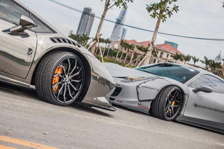Bo doi sieu xe Lamborghini va Ferrari 30 ty tai Sai Gon - Anh 5