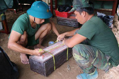 Binh Duong: Phat hien va khai quat hang chuc hai cot liet si - Anh 14