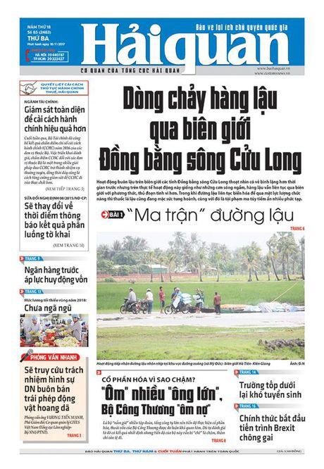 Nhung tin, bai hap dan tren Bao Hai quan so 85 phat hanh ngay 18/7 - Anh 1