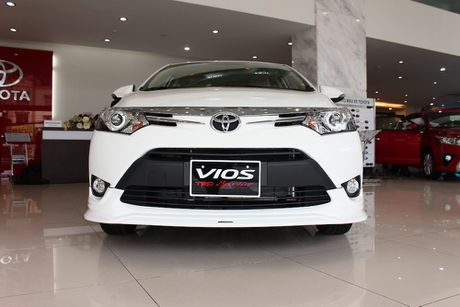 Can canh Toyota Vios TRD phong cach the thao - Anh 1