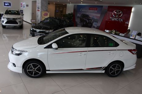 Can canh Toyota Vios TRD phong cach the thao - Anh 26
