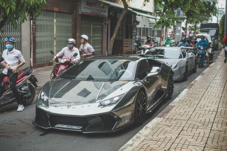 Bo doi sieu xe do do dang tai Sai Gon - Anh 3
