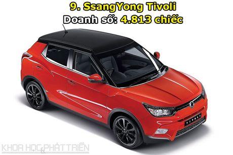 Top 10 oto hut khach nhat Han Quoc thang 6/2017: Hyundai ap dao - Anh 9