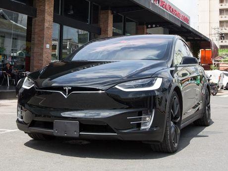 Tesla Model X P100D gia 8 ty dong tai TP.HCM - Anh 1