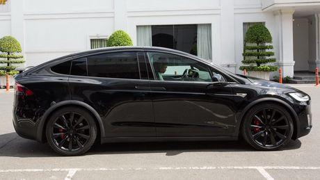 Tesla Model X P100D gia 8 ty dong tai TP.HCM - Anh 4