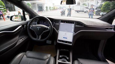 Tesla Model X P100D gia 8 ty dong tai TP.HCM - Anh 5