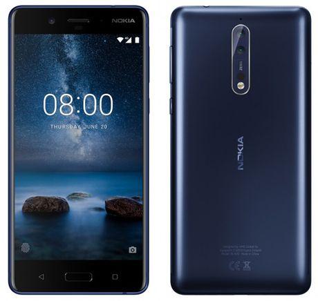 Nokia 8 co gia ban 15,7 trieu dong, ra mat cuoi thang 7 - Anh 1