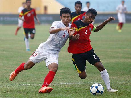 U22 Dong Timor mang cau thu 15 tuoi da vong loai U23 chau A 2018 - Anh 1