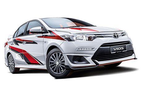Toyota Vios phien ban 'xe dua' gia 452 trieu dong - Anh 10