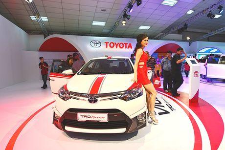 Toyota Vios phien ban 'xe dua' gia 452 trieu dong - Anh 1
