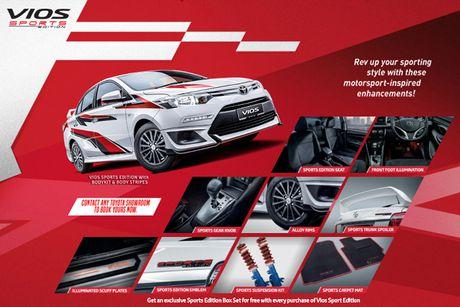 Toyota Vios phien ban 'xe dua' gia 452 trieu dong - Anh 6