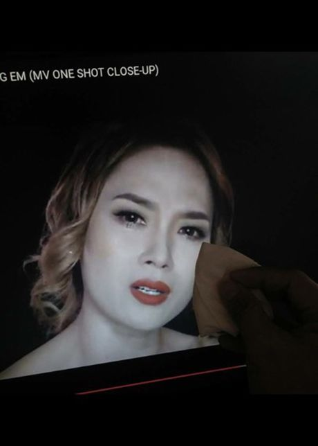 Chet cuoi loat anh che My Tam trong MV 'Dau chi rieng em' - Anh 3
