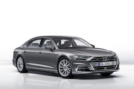 Audi A8 2018 gia 2,34 ty thay doi gi so voi cu - Anh 1