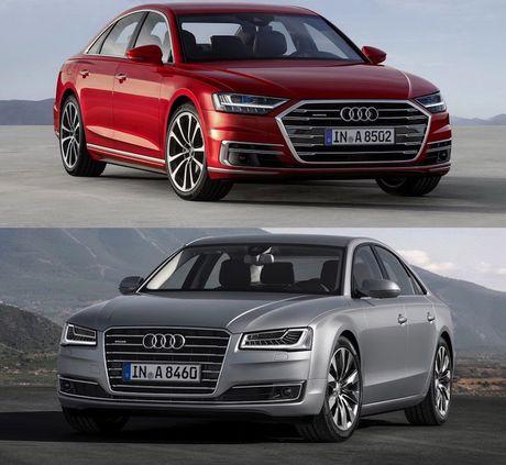 Audi A8 2018 gia 2,34 ty thay doi gi so voi cu - Anh 2