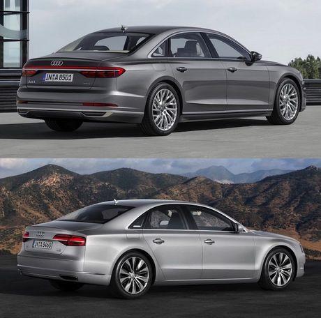Audi A8 2018 gia 2,34 ty thay doi gi so voi cu - Anh 3