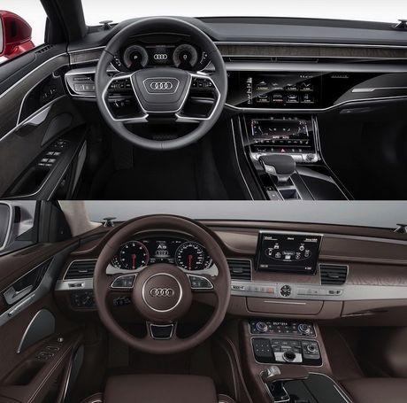 Audi A8 2018 gia 2,34 ty thay doi gi so voi cu - Anh 4