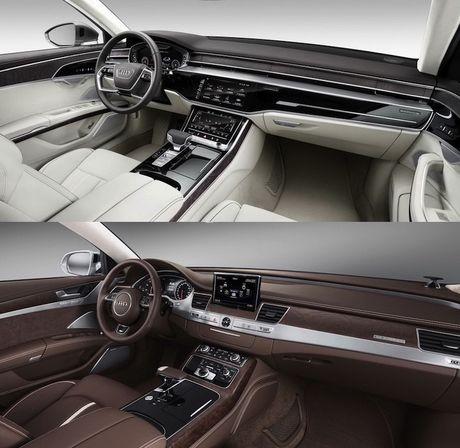 Audi A8 2018 gia 2,34 ty thay doi gi so voi cu - Anh 5