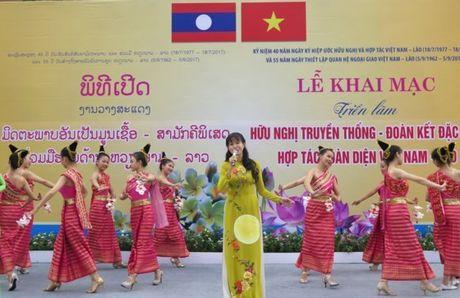 Nhieu hoat dong ky niem 40 nam Ngay ky Hiep uoc Huu nghi va Hop tac Viet Nam - Lao - Anh 1