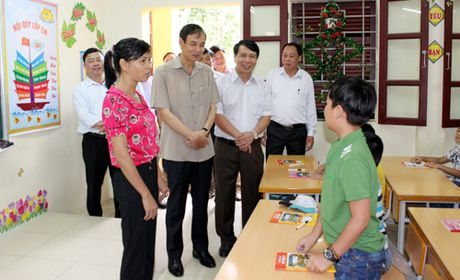 Pho Bi thu Thanh uy Dao Duc Toan lam viec voi huyen Ba Vi - Anh 1