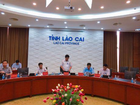 Tinh Lao Cai hop hang tuan cung cap thong tin cho bao chi - Anh 1