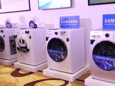 May giat Samsung 'Made in Viet Nam' bi dieu tra ban pha gia tai thi truong My? - Anh 1