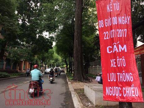 Tu ngay 22/7, dieu chinh phan luong giao thong tren duong Tran Quoc Thao va Le Quy Don - Anh 1