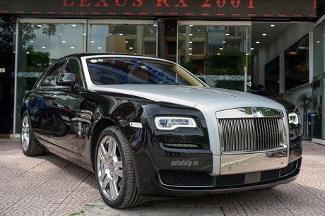 Rolls-Royce Ghost Series II rao ban gia 25 ty dong tai Ha Noi - Anh 1