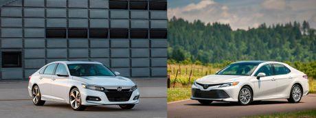 """Honda Accord va Toyota Camry moi: Nhung """"tuong dai"""" bi lung lay - Anh 1"""