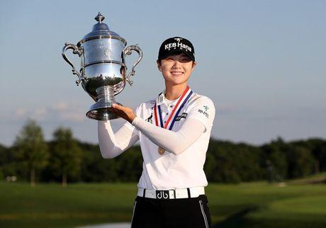 Sung Hyun Park lan dau vo dich U.S. Women's Open - Anh 1