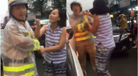 Thieu phu chay lan lan hanh hung CSGT: Su co khong anh huong lon den toi! - Anh 3