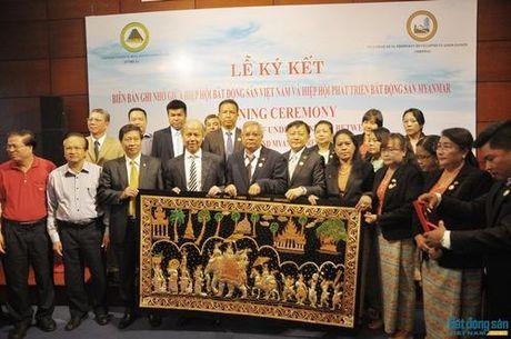 VNREA tang cuong hop tac voi cong dong doanh nghiep bat dong san Myanmar - Anh 6