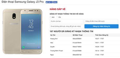 Galaxy J3 Pro se co gia duoi 4,5 trieu - Anh 2