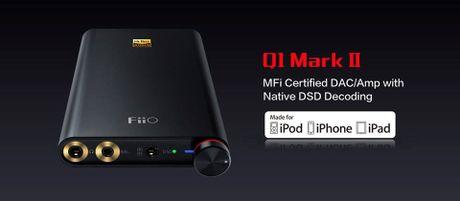 Fiio ra mat DAC/Amp DSD Q1 mark II va tai nghe F9 - Anh 4