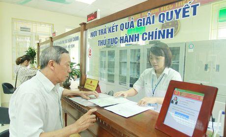 Ha Noi co nhieu dot pha trong cai cach thu tuc hanh chinh - Anh 1
