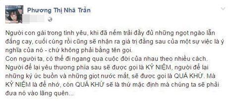 Sau tin don dam cuoi, Truong Giang - Nha Phuong ro nghi van 'duong ai nay di' - Anh 1