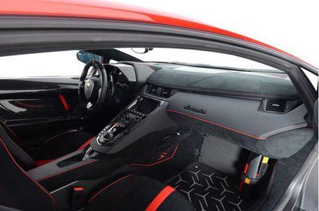 Ve dep sieu xe hang hiem Lamborghini Aventador SV do ruc rao ban 12,7 ty Dong - Anh 14