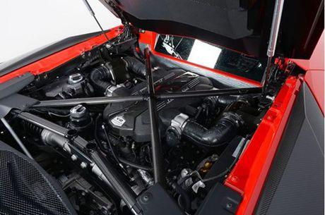 Ve dep sieu xe hang hiem Lamborghini Aventador SV do ruc rao ban 12,7 ty Dong - Anh 16