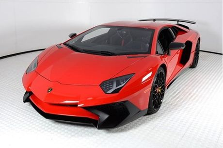 Ve dep sieu xe hang hiem Lamborghini Aventador SV do ruc rao ban 12,7 ty Dong - Anh 3