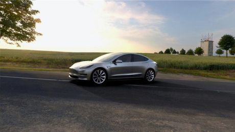 Tat ca nhung gi ban can biet ve chiec xe dien Tesla Model 3 - Anh 2