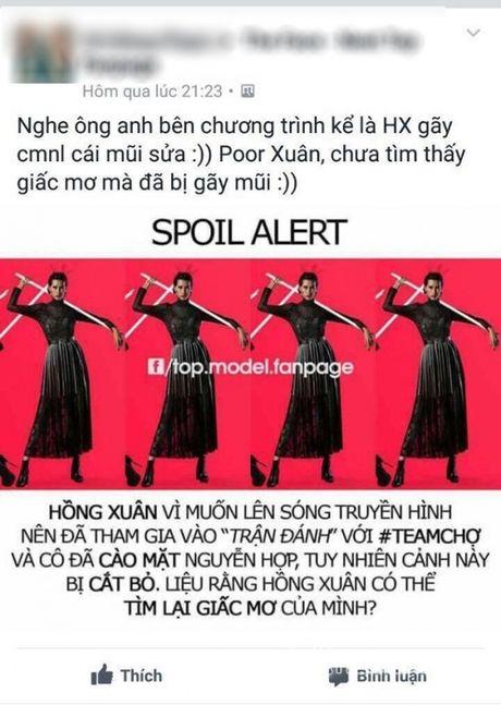 Hong Xuan Next top len tieng chuyen danh Nguyen Hop, thua nhan mui bi ton thuong - Anh 1