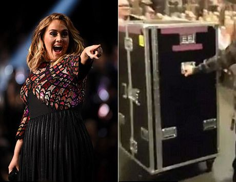 Taylor Swift bi don chui trong vali de lan tranh paparazzi - Anh 2