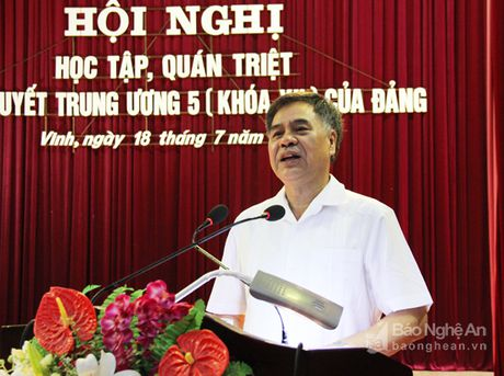 Thanh pho Vinh quan triet Nghi quyet Trung uong 5 (khoa XII) - Anh 2