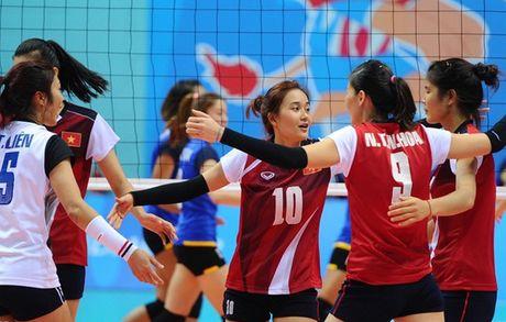 Bong chuyen nu Viet Nam chot danh sach tham du SEA Games 29 - Anh 1