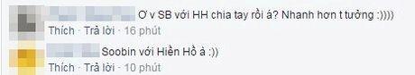 Giua 'bao' scandal tinh cam: Soobin - Hien Ho bi am chi phai chia tay vi ap luc du luan, Toc Tien dang status kho hieu - Anh 3