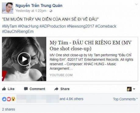 Hari Won, Min cung nhieu sao Viet dong loat 'buong loi yeu thuong' voi MV moi cua My Tam - Anh 10
